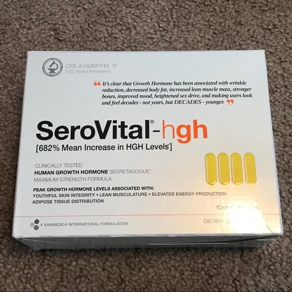 SEROVITAL HGH SUPPLEMENT - BNIB! NWT